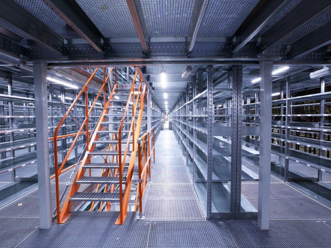 мезонины и платформы для склада